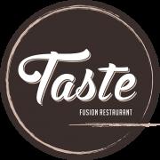 Taste Fusion Restaurant Logo CIRCLE Small